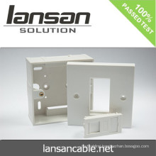 Dual UK 2 PORT Face Plate For Cable Solution In China