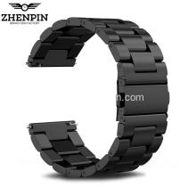 Black Stainless Steel band untuk jam tangan apel 42mm