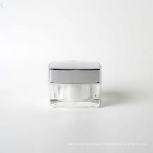 15g Plastic Square Acrylic Cream Jar (EF-J40015)