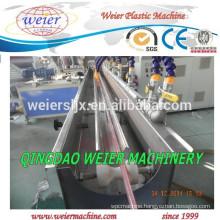 plastic PVC hoses extrusion line
