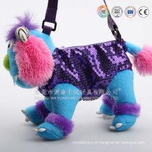 Fábrica de brinquedos de presente que faz a mochila macia do gato do jardim zoológico do luxuoso