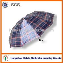 Pliage parapluie pas cher hommes chaud vendre avec Design Check
