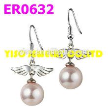 jewelry angel crystal earrings