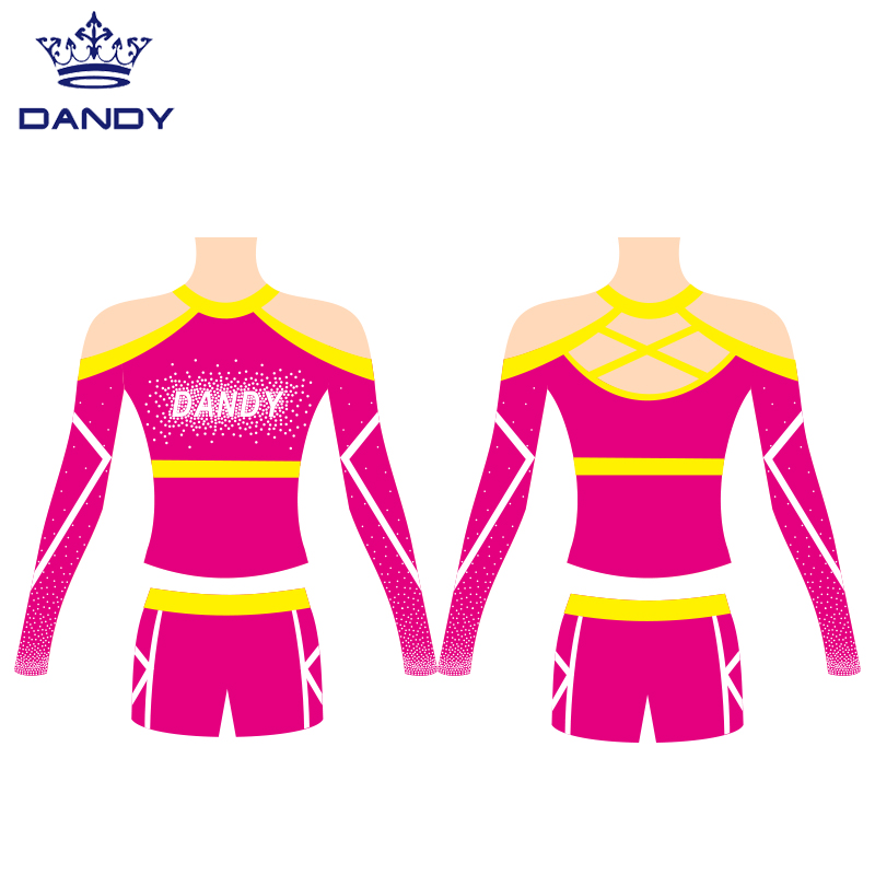 cheerleading team uniforms