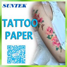 CE-/RoHS / Reichweite temporäre Tattoo Transfer Aufkleber Papier Tattoo Aufkleber
