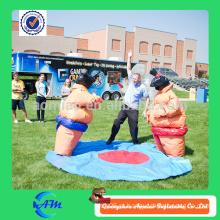 Inflável sumo jogo / sumo sumo crianças / adultos sumo insuflável ternos de luta