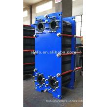 Aquecedor de água de aço inoxidável China, óleo hidráulico refrigerador Alfa Laval M10M substituição