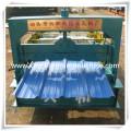 Telha de telhado de aço galvanizado popular faz a máquina
