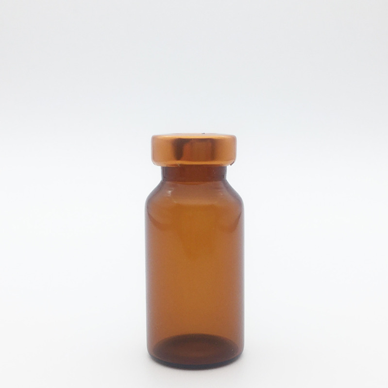 8ml Amber Sterile Serum Vials Orange