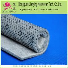 Tissu imprimé en feutre perforé au style DOT et à l'aiguille pour tapis