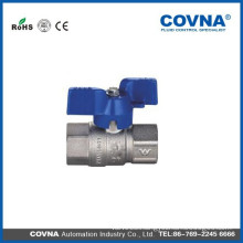 Made in China brass mini ball valve with price