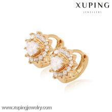 (90067) Xuping Fashion haute qualité en plaqué or 18 carats boucle d'oreille
