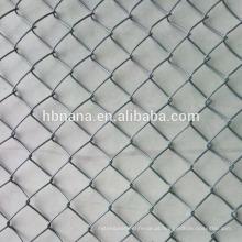 eletro galvanizado chainlink esgrima malha / preço para malha elo da cadeia