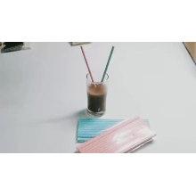 Kasten-Verpackungs-Stab-Zusatz-Nahrungsmittelgrad-Drucken Eco biologisch abbaubarer Papiertrinkhalm, Farbtrinkendes Papierstroh