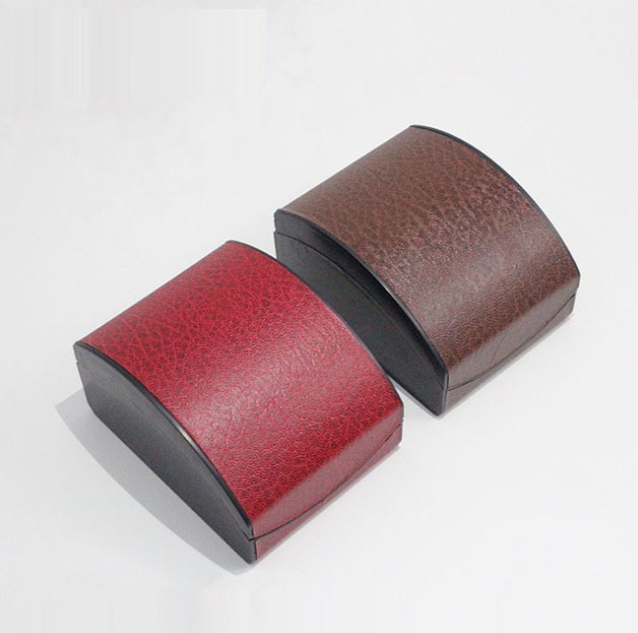 Leatherette paper leather watch display box
