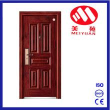 Hot Security Modern Front Steel Exterior Door for House