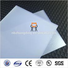 Feuille de polycarbonate à diffusion solide en polycarbonate / feuille de papier à diffusion opale