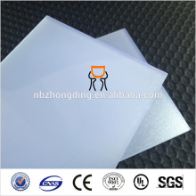 polycarbonate diffused sheet for advertising light box, polycarbonate signs