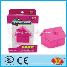 2016 новый продукт YJ YongJun дом Magic Puzzle куб образовательные игрушки английский Упаковка для продвижения