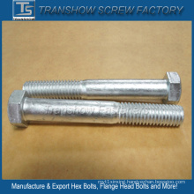 Silver Coated Alloy Steel Hexagon Bolts