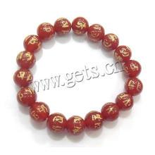 Браслет Gets.com Будда, красный агат буддийский браслет