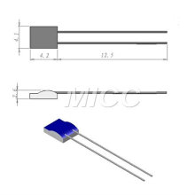 Platinum RTD/PT100 Elements 4.1x4.2mm/rtd elements
