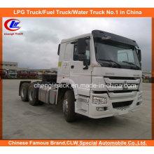 6X4 420HP Sinotruk HOWO Caminhão Tractor Pesado Prime Mover
