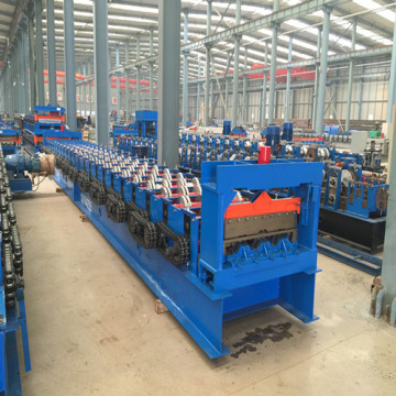 Decking rolvormen machine gegalvaniseerd