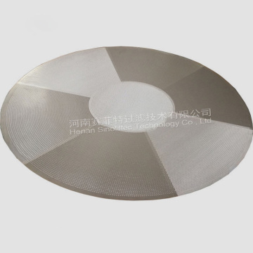 316L Rostfritt Stål Sintered Wire Mesh Filter Disc