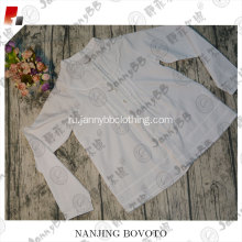 Boutiques White JannyBB long fashion T-shirt