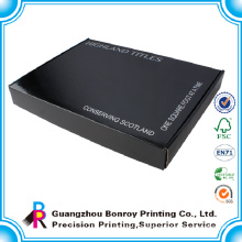 New design rigid corrugated custom shipping boxes for clothes