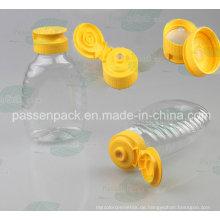 Gelbe Silikon-Ventilkappen für Pet Squeezable Honig-Flasche (PPC-PSVC-007)