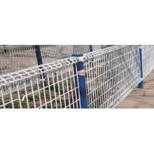 Оцинкованный/ПВХ покрытием двойной петли забор