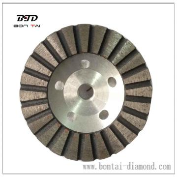 Aluminum base Cup Wheels for stone grinding