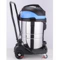 Máquina de limpeza pesada de três motores 80L Máquina de limpeza industrial de pó seco e seco