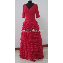 Weinlese chinesisches Hochzeitskleid Mutter der Braut MD8002