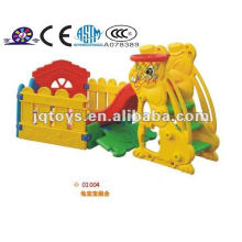 Hotsale Kids Plástico al aire libre Play Tube Slide Diapositiva barata