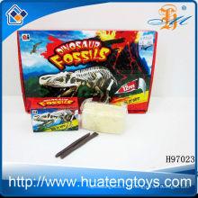 2014 оптовая игрушка динозавров окаменелости раскопки комплекты игрушка H97023