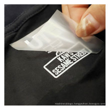 Wholesale Clothes Size Label Garment Heat Transfer Size Tags For T-Shirt