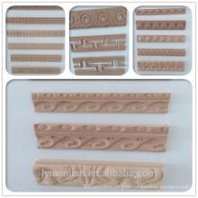 diseño elegante tallado moldeado de madera