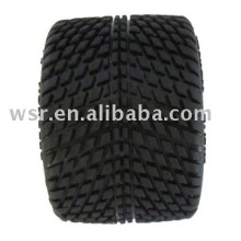 Racing car toy rubber wheels with OEM service-A092