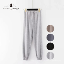 Stricken Loose Joggers Sports Black Yoga Pant Hosen