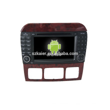 Kaier завода напрямую !андроид 4.4 DVD-плеер автомобиля для Benz с +ОЕМ+видеорегистратор+двухъядерный +ТМЗ+зеркало ссылку +БД!