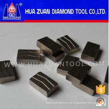 Heißer Verkauf Granit Segment für 1000 mm Diamant Sägeblatt
