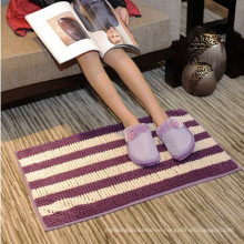 microfiber chenille non-slip bathroom floor mat toilet floor mat