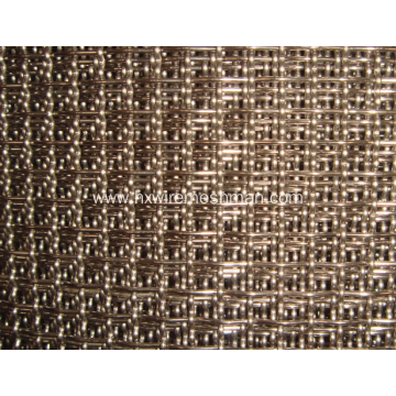 Crimped Steel Wire Woven Mesh