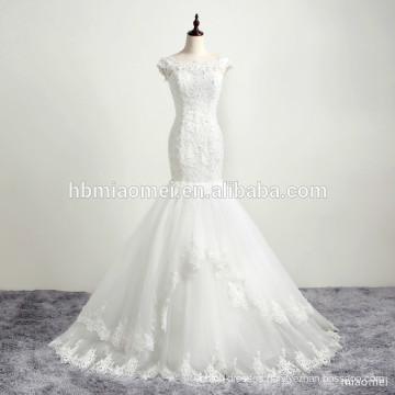 Bridal mermaid gown wedding dress made in China muslim wedding dress