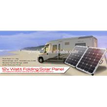 Nuevo y barato precio 12V 120w plegable kit solar plegable