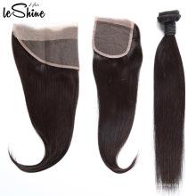 O produto o mais barato 13x4 cuticle de seda alinhou o Frontal do laço com cabelo do bebê