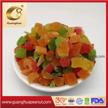 Wholesale Dried Papaya Dices with Kosher Certificate
